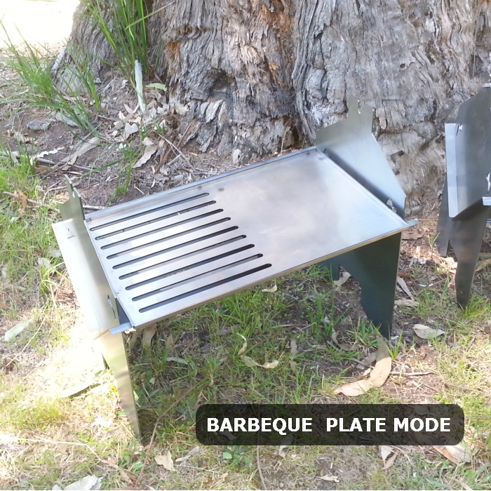 how to build flat plate bbq